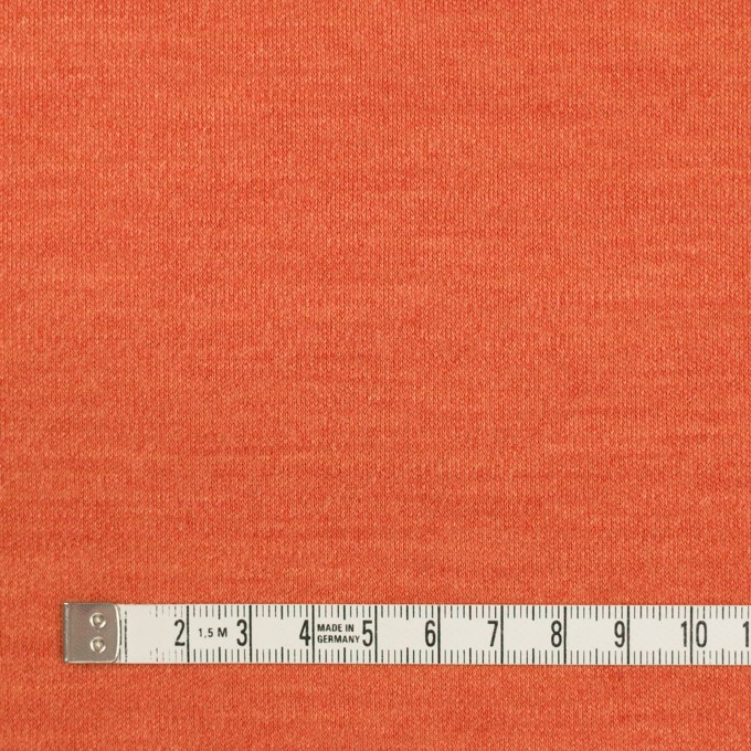 ウール&ナイロン×無地(キャロット)×スムースニット イメージ4