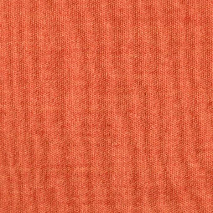 ウール&ナイロン×無地(キャロット)×スムースニット イメージ1