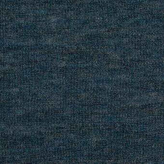 ウール&ナイロン×無地(バルビゾンブルー)×フライスニット サムネイル1