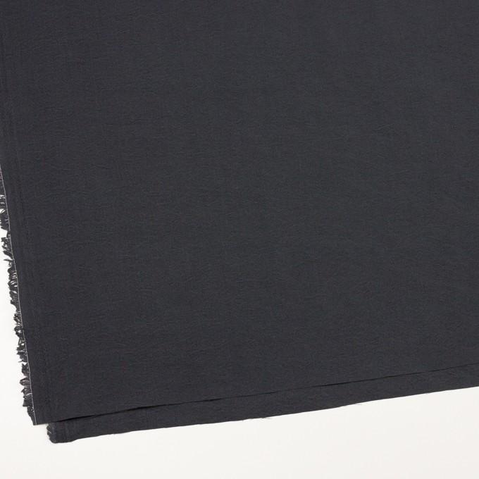 シルク&ナイロン×無地(チャコールグレー)×ポプリン イメージ2