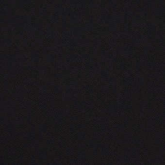 ポリエステル&ポリウレタン×無地(ブラック)×サージストレッチ サムネイル1