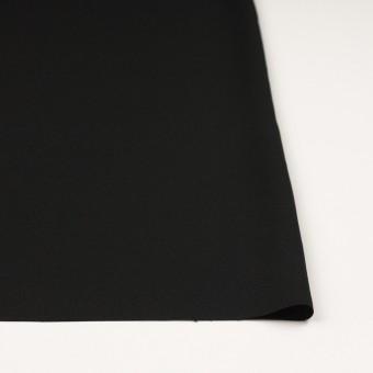 ポリエステル&トリアセテート×無地(ブラック)×バックサテンジョーゼット サムネイル3