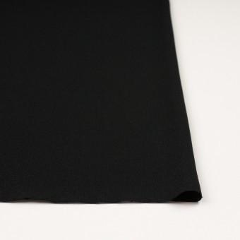ポリエステル&アセテート×無地(ブラック)×バックサテンジョーゼット サムネイル3