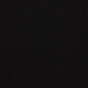 ポリエステル&アセテート×無地(ブラック)×バックサテンジョーゼット