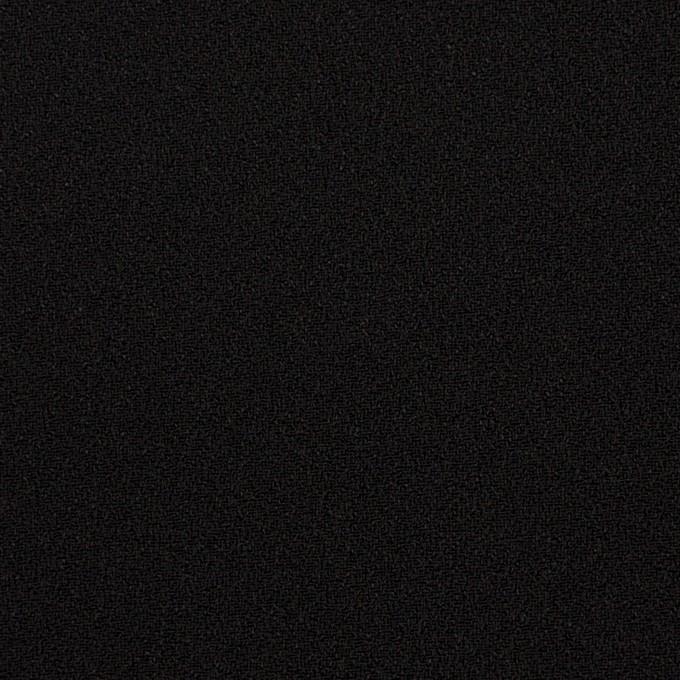 ポリエステル&アセテート×無地(ブラック)×バックサテンジョーゼット イメージ1