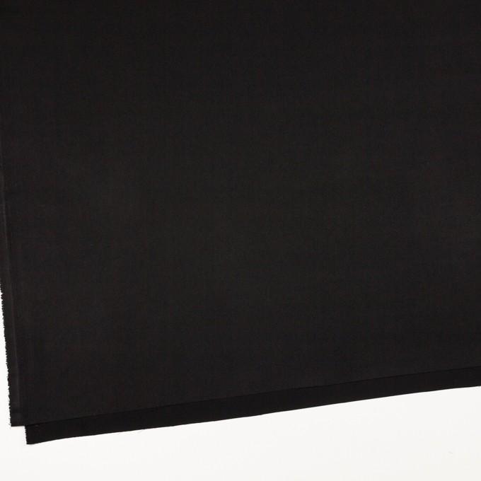 ポリエステル×無地(ブラック)×サテン イメージ2