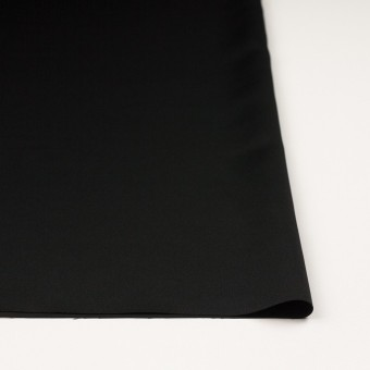 ポリエステル×無地(ブラック)×サテン サムネイル3
