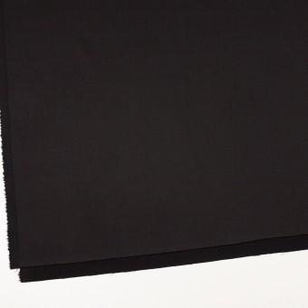 ビスコース&ナイロン混×無地(ブラック)×サージストレッチ_イタリア製 サムネイル2