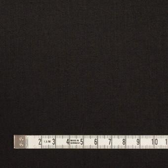 ビスコース&ナイロン混×無地(ブラック)×サージストレッチ_イタリア製 サムネイル4
