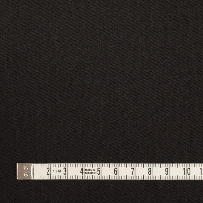 ビスコース&ナイロン混×無地(ブラック)×サージストレッチ_イタリア製 イメージ4