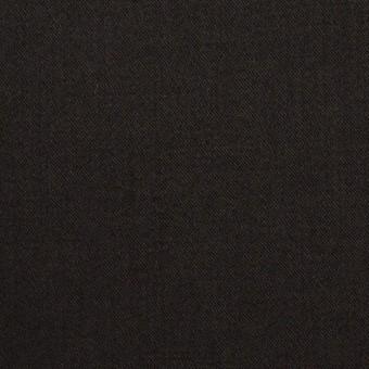 ビスコース&ナイロン混×無地(ブラック)×サージストレッチ_イタリア製 サムネイル1