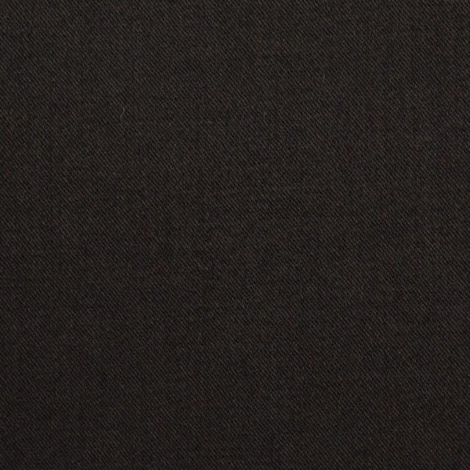 ビスコース&ナイロン混×無地(ブラック)×サージストレッチ_イタリア製 イメージ1