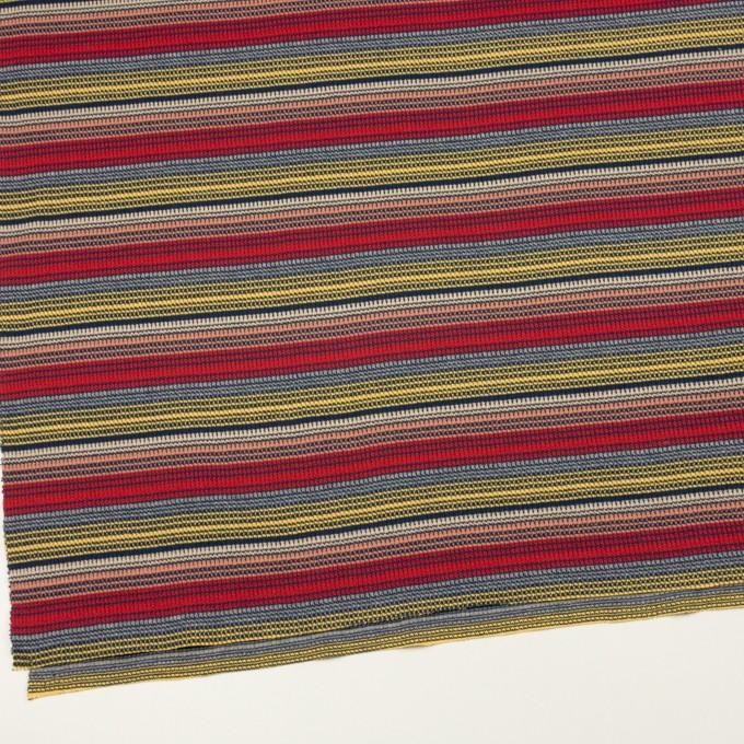 コットン×ボーダー(マルチ)×かわり編み イメージ2