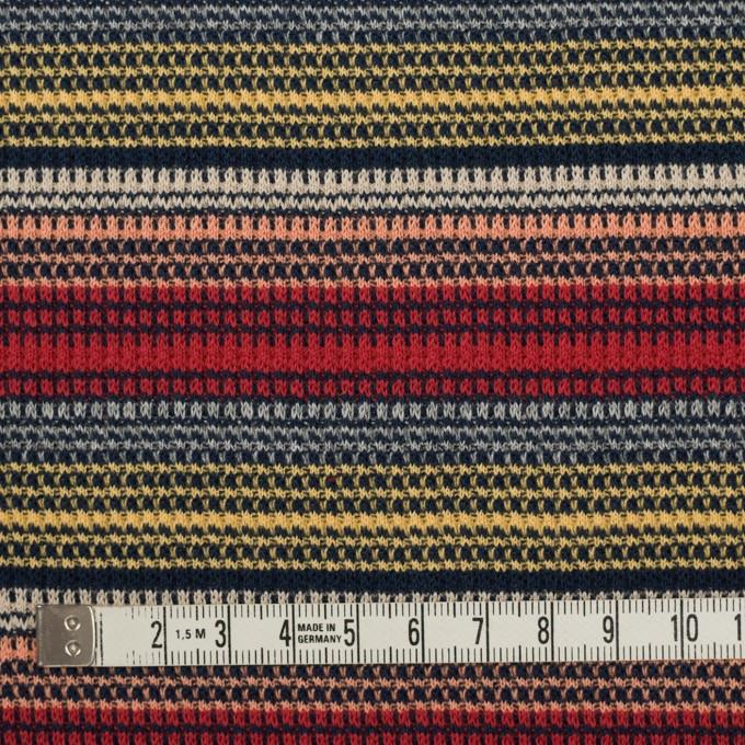 コットン×ボーダー(マルチ)×かわり編み イメージ4