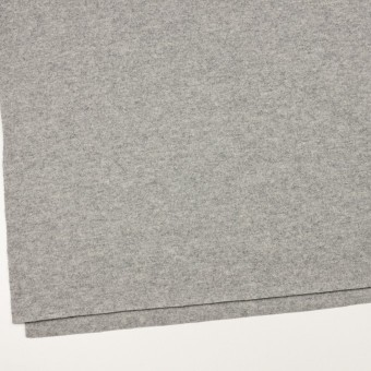 ウール&ナイロン×無地(ライトグレー)×圧縮ニット サムネイル2