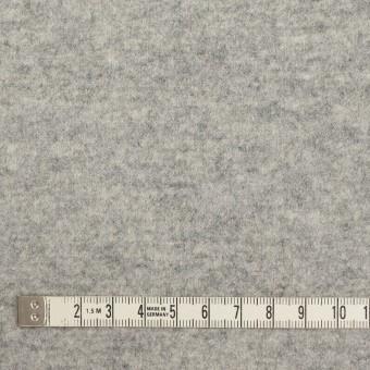 ウール&ナイロン×無地(ライトグレー)×圧縮ニット サムネイル4
