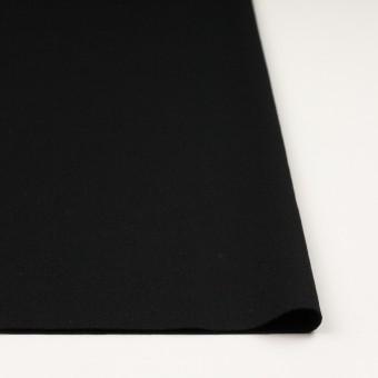 ウール×無地(ブラック)×圧縮ニット サムネイル3