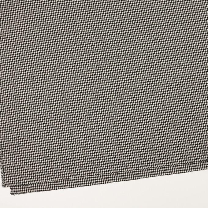 ウール×チェック(ブラック)×千鳥格子 イメージ2