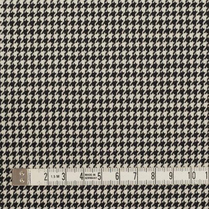 ウール×チェック(ブラック)×千鳥格子 イメージ4