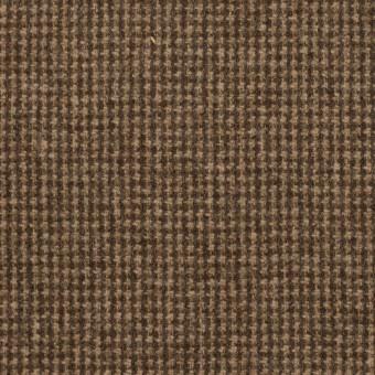 ウール×チェック(モカ)×千鳥格子 サムネイル1