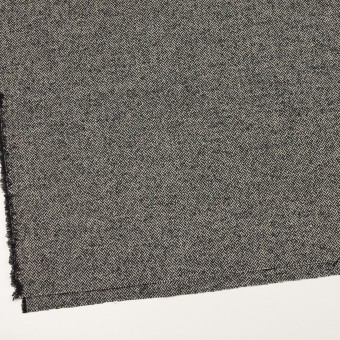 ウール&ナイロン×ミックス(ブラック)×ヘリンボーン_全2色 サムネイル2