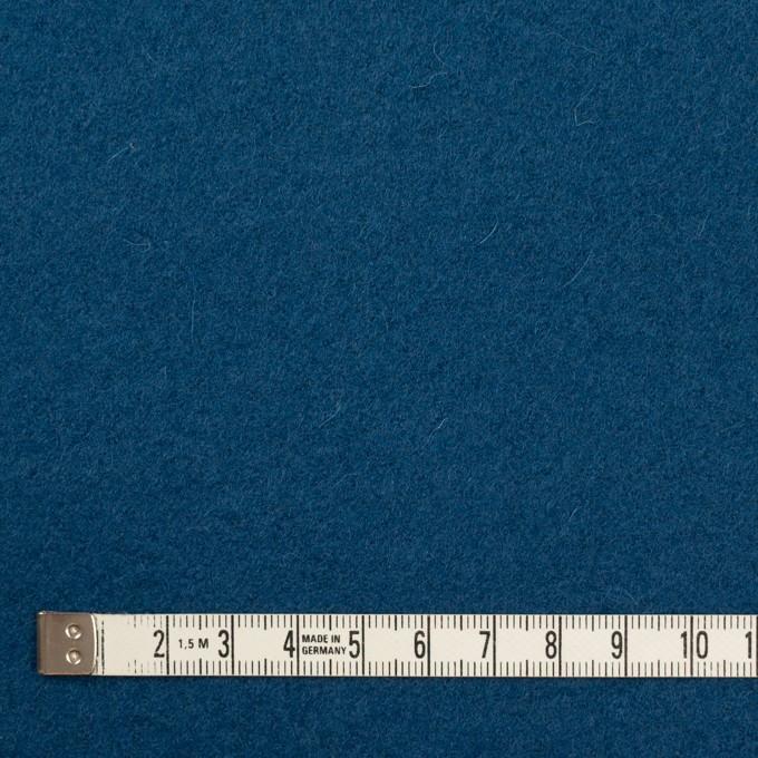 ウール&ナイロン×無地(インクブルー)×フラノ(フランネル) イメージ4