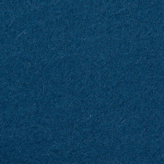 ウール&ナイロン×無地(インクブルー)×フラノ(フランネル) イメージ1
