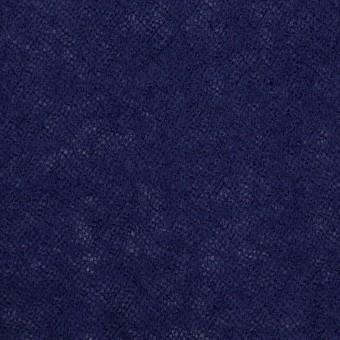 ウール×無地(マリンブルー)×ガーゼ サムネイル1