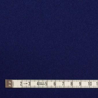 ウール×無地(マリンブルー)×フラノ(フランネル) サムネイル4