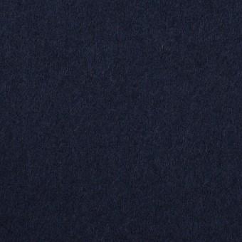 ウール&ナイロン×無地(ネイビー)×フラノ(フランネル) サムネイル1