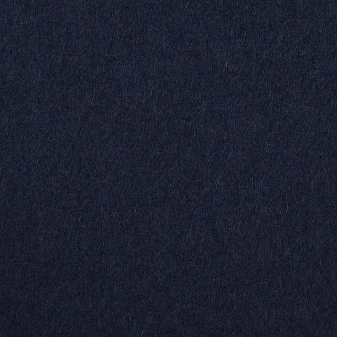 ウール&ナイロン×無地(ネイビー)×フラノ(フランネル) イメージ1