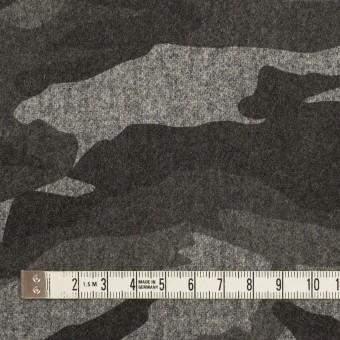 ウール&ポリウレタン×迷彩(グレーミックス)×フラノストレッチ_全2色 サムネイル4