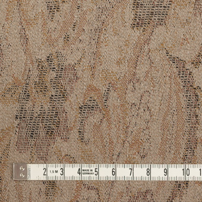 ウール×幾何学模様(グレイッシュベージュ)×ジャガード_全3色 イメージ4