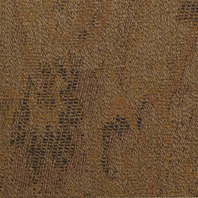 ウール×幾何学模様(モカ)×ジャガード_全3色 イメージ1