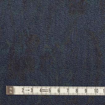 ウール×幾何学模様(ネイビー)×ジャガード_全3色 サムネイル4
