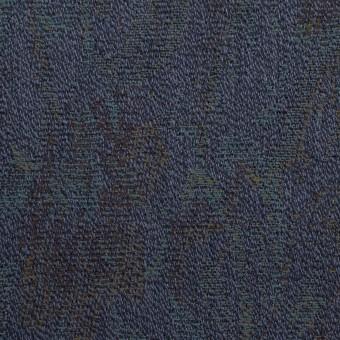 ウール×幾何学模様(ネイビー)×ジャガード_全3色 サムネイル1