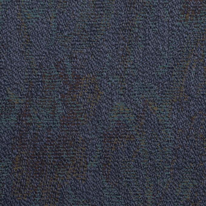 ウール×幾何学模様(ネイビー)×ジャガード_全3色 イメージ1