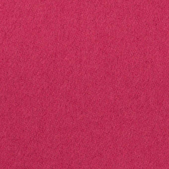 ウール×無地(ローズ)×フラノ(フランネル) イメージ1