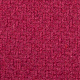 ウール&ナイロン×無地(ショッキングピンク)×かわり織_イタリア製 サムネイル1