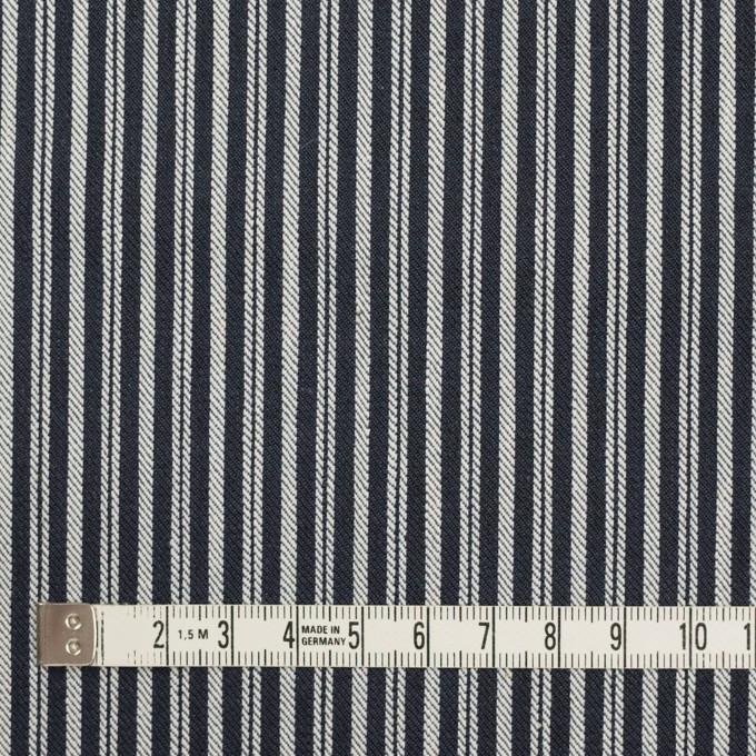 コットン×ストライプ(インディゴ)×デニムヒッコリー(9.5oz) イメージ4