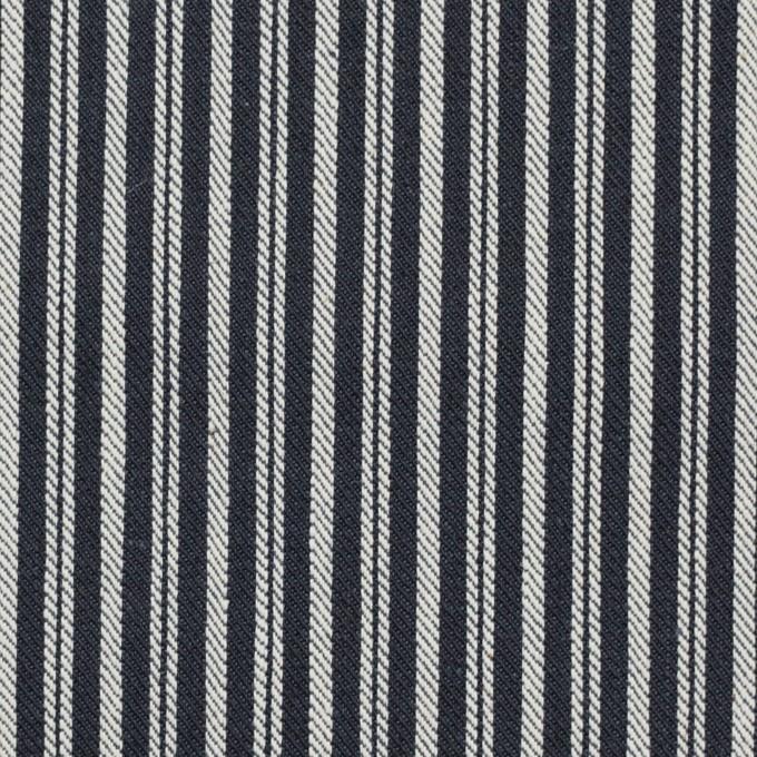 コットン×ストライプ(インディゴ)×デニムヒッコリー(9.5oz) イメージ1