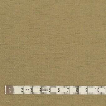 ウール&カシミア混×無地(カーキベージュ)×サージ_イタリア製 サムネイル4