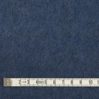 アクリル&ウール×無地(ウィンターブルー)×フリースニット_イタリア製 サムネイル4