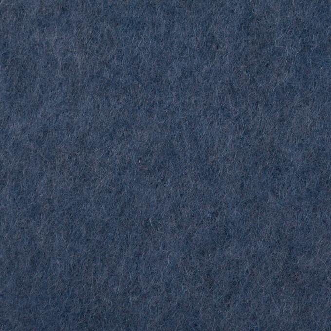 アクリル&ウール×無地(ウィンターブルー)×フリースニット_イタリア製 イメージ1