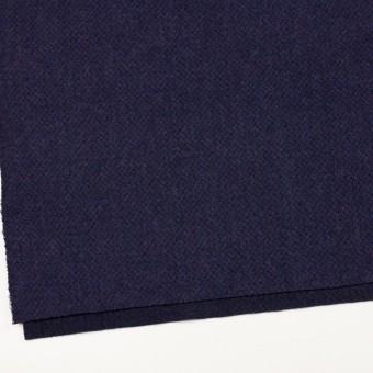 ウール×無地(グレープ)×かわり編み サムネイル2