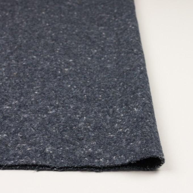 コットン×無地(ブルーグレー)×かわり織 イメージ3
