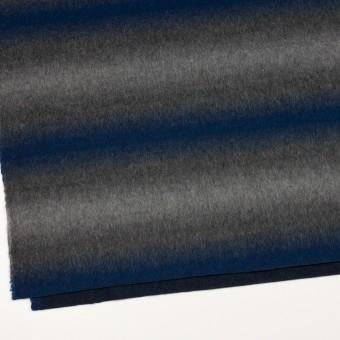 ウール&カシミア×オンブレ(ブルー&グレー)×ビーバー_全2色 サムネイル2