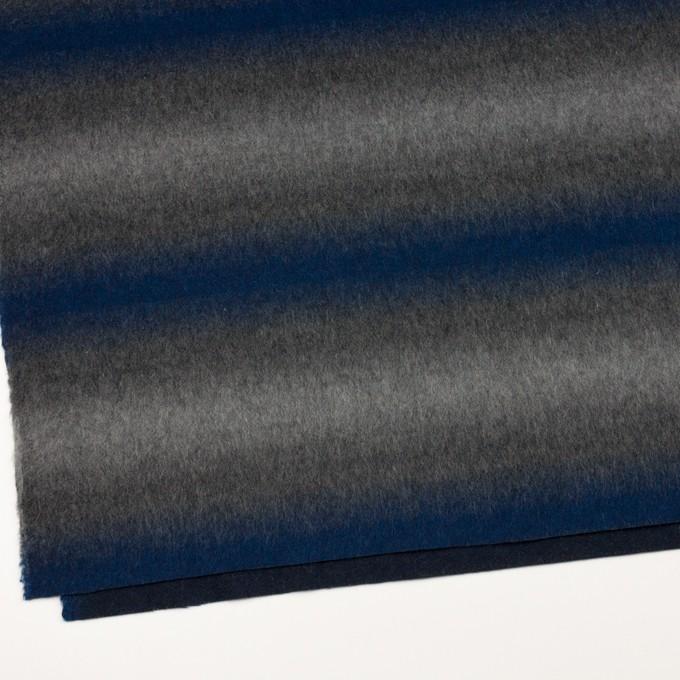 ウール&カシミア×オンブレ(ブルー&グレー)×ビーバー_全2色 イメージ2