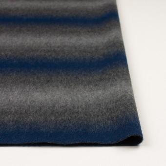 ウール&カシミア×オンブレ(ブルー&グレー)×ビーバー_全2色 サムネイル3