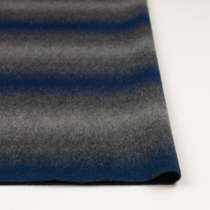 ウール&カシミア×オンブレ(ブルー&グレー)×ビーバー_全2色 イメージ3